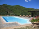 Full size swimming pool with spectacular 360º view.