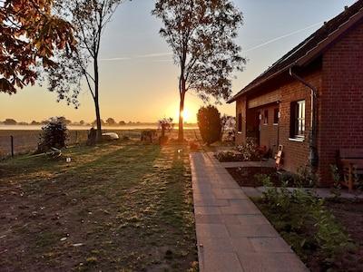 Erholung Pur! Traumhafte Ferienwohnung mit großem Grundstück beim Schaalsee
