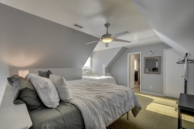 Two beds for the kids or second family to enjoy with an amazing view!