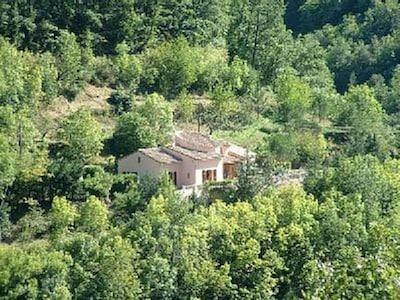 Arial View of Villa De Tour