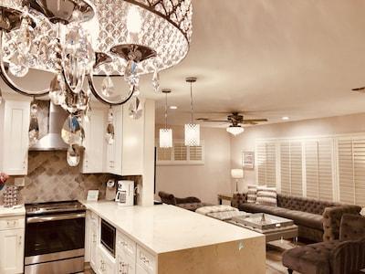 Stunning great room floor plan. Elegant yet comfortable. Lots of cozy seating.