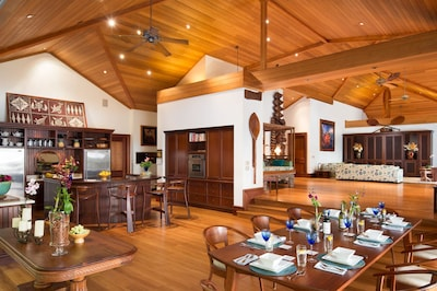 Designed in an open floor plan, making it perfect for entertaining.