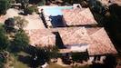 villa vue d'avion de la villa