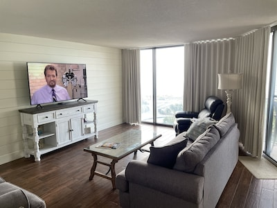 """FamilyRoom with 65"""" Smart TV"""