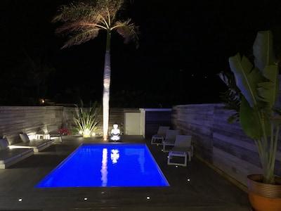 Villa BRUNEVA by night!
