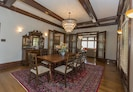 Dining room set for eight