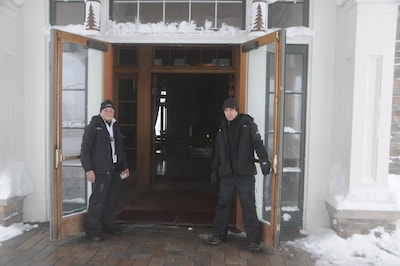 Welcome to Allegheny Springs - We can help unload and assist you to your room.