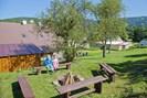 Garten mit Lagerfeuerplatz