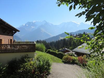 Skilift St Gervais-Le Bettex, Saint-Gervais-les-Bains, Haute-Savoie (departement), Frankrijk