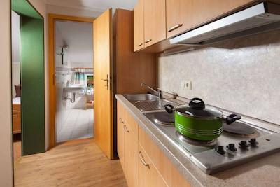 Ferienwohnung Nr. 4 Watzmann, 2 bis 3 Personen, 55 qm-Küche