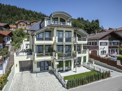 Außenansicht Villa am Hopfensee