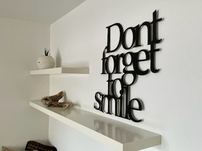 Don´t forget to smile:-)