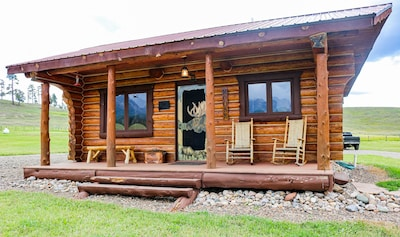 Front View of Moose Cabin!