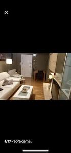 Bonito y acogedor apartamento en la playa de Laredo ( playa Salve)
