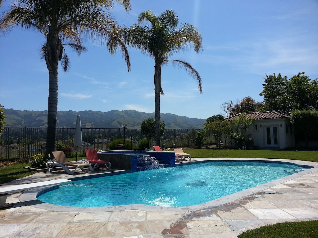 Mediterranean Castle Fit For Kings Queens With Pool Spa Sauna And Views East San Jose