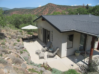 Private Patio for Wildlife Viewing & Stargazing
