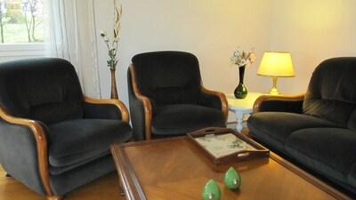 Salon en hiver   Lounge in winter time