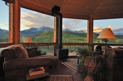 Incredible but True:  The breathtaking, panoramic views from the Great Room...