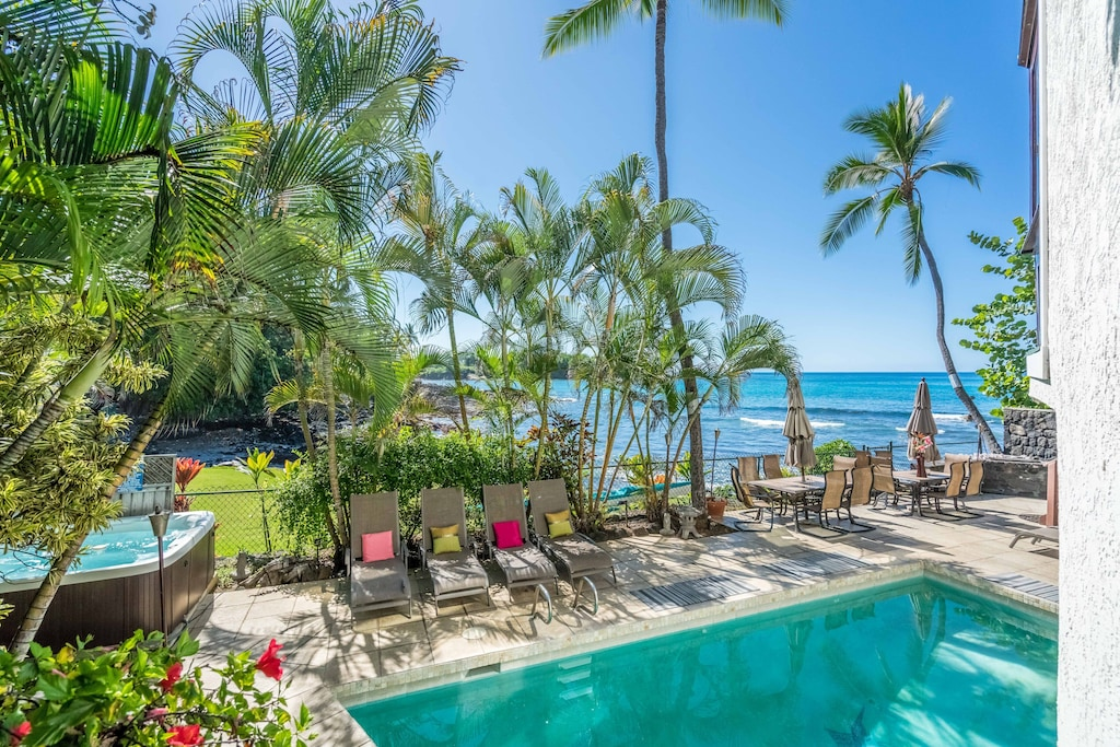 This vacation rental in Kailua-Kona is one of the best places to stay on Big Island Hawaii