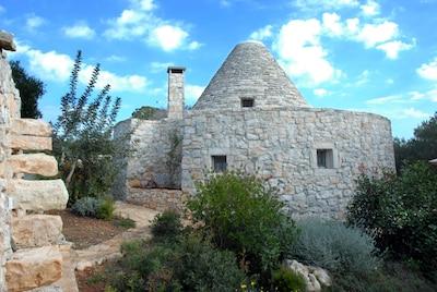Torre Normanno Sveva, Cisternino, Apulien, Italien