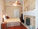 2nd King Bedroom w/original fireplace. Only rental with  Original architecture.