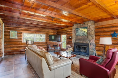 The original Log House Great Room