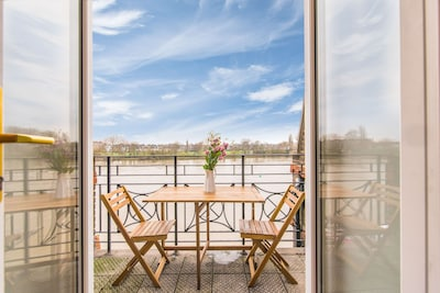 River View, Penthouse Apartment, Zone 2, Hammersmith, London, 2 Bedrooms 2 Bath