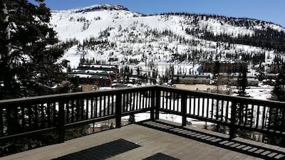 View of Brian Head Ski resort from main deck, level 2.