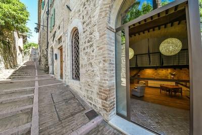 Santa Maria delle Rose, Assisi, Umbria, Italy