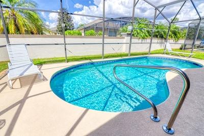 Enjoy the pool!