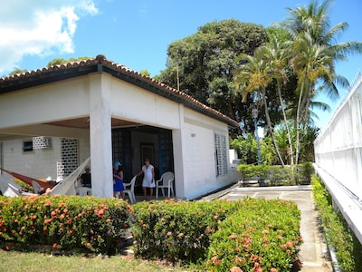 Casa em frente ao Mar na Ilha de Itaparica