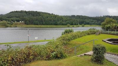 66m² Ferienwohnung direkt am Twistesee (Seeblick)