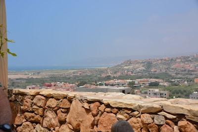 Vue sur la baie de Taghazoute