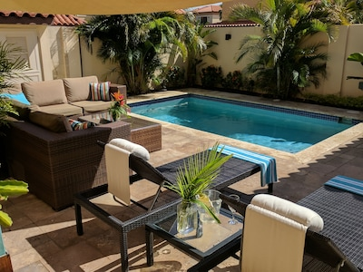 Enjoy your own private yard and pool!