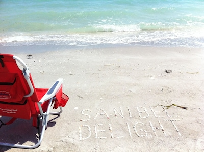 Pristine shelling beaches on famous Sanibel Island.