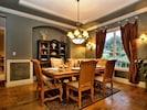 Formal Dining Room Adjacent to Kitchen