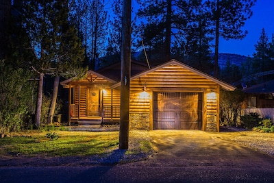 Pine-Tree Cabin Moments away from the lake and Ski Slope, and so much more!