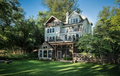 New Bucks County River House