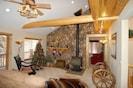 Living Room at Christmas