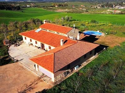 Excepcional Casa con vistas espectaculares del Lago Romano de Proserpina