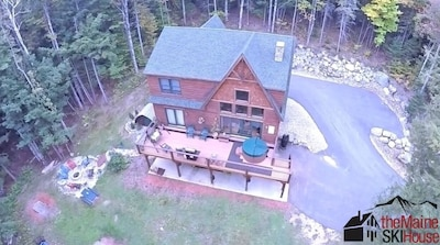 One acre lot, hot tub for 6, plenty of parking & yard for summer time fun!