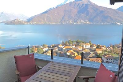 Aussicht von der Terrasse
