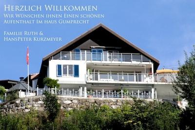 Seilbahn Emmetten, Emmetten, Kanton Nidwalden, Schweiz