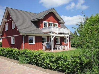 Familienfreundliches Schwedenhaus in ruhiger Lage im Biosphärenreservat