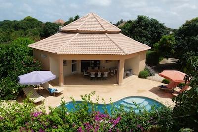 une villa dans un écrin de verdure