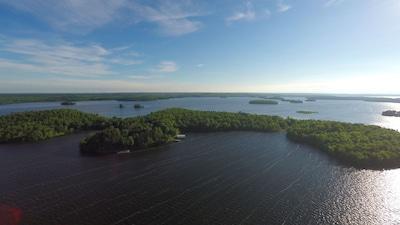 45 acre private Strand Island