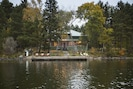 Crib dock and 8 bedroom cabin