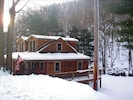 Winter on the Savage River, Brownie Cabin