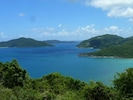 The most incredible down island view of 7 islands and the open Atlantic Ocean