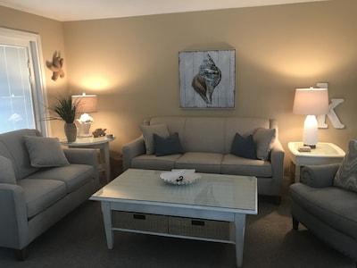 All new comfy furniture.